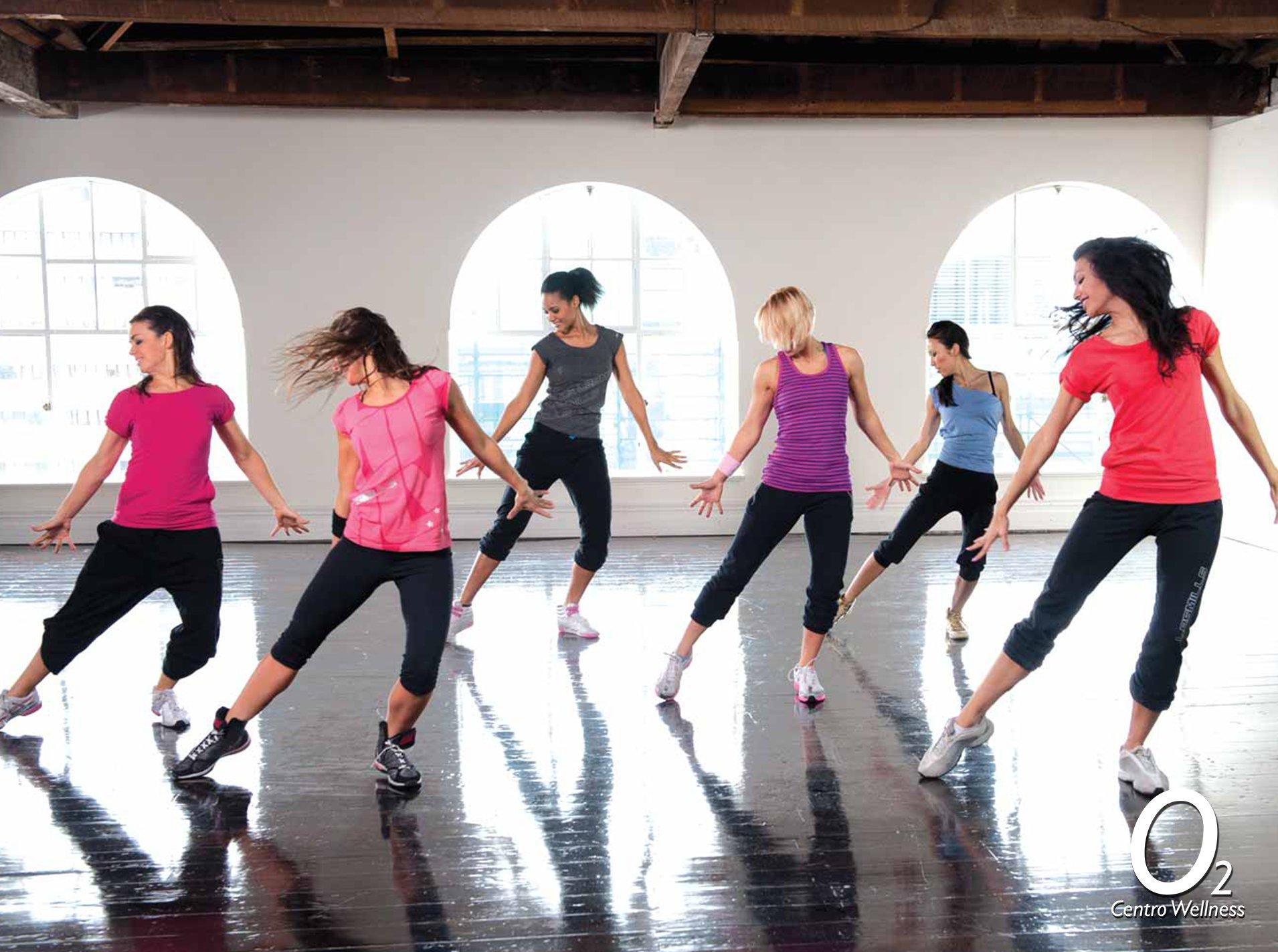 nueva coreografia en dance o2cw fitness gimnasio