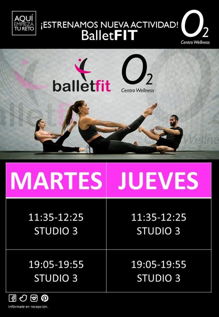 Planificación de la nueva actividad en O2CW El Perchel, Málaga.