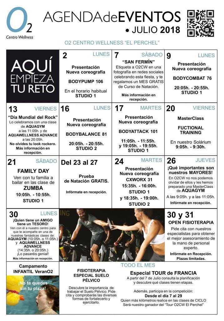 AGENDA DE EVENTOS MALAGA JULIO 18