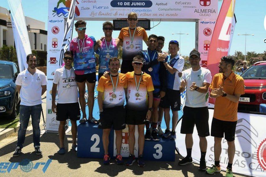 Nuevo triunfo del equipo de triatlón TriTrain4You-O2CW-Cabberty
