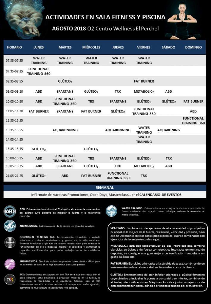Dinamizaciones El Perchel Agosto 2018