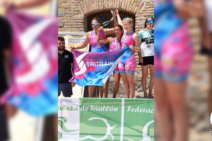 ¡Felicidades Equipo Femenino de Triatlón!